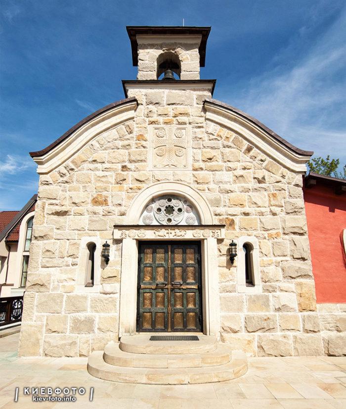 Архангело-Михайловський Зверинецький монастырь. Церковь Собора преподобных отцов Зверинецких