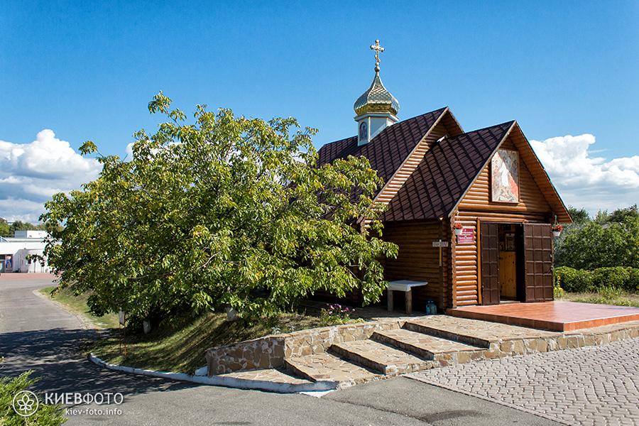 Церква «Воскресіння Словущого» на території Крематория