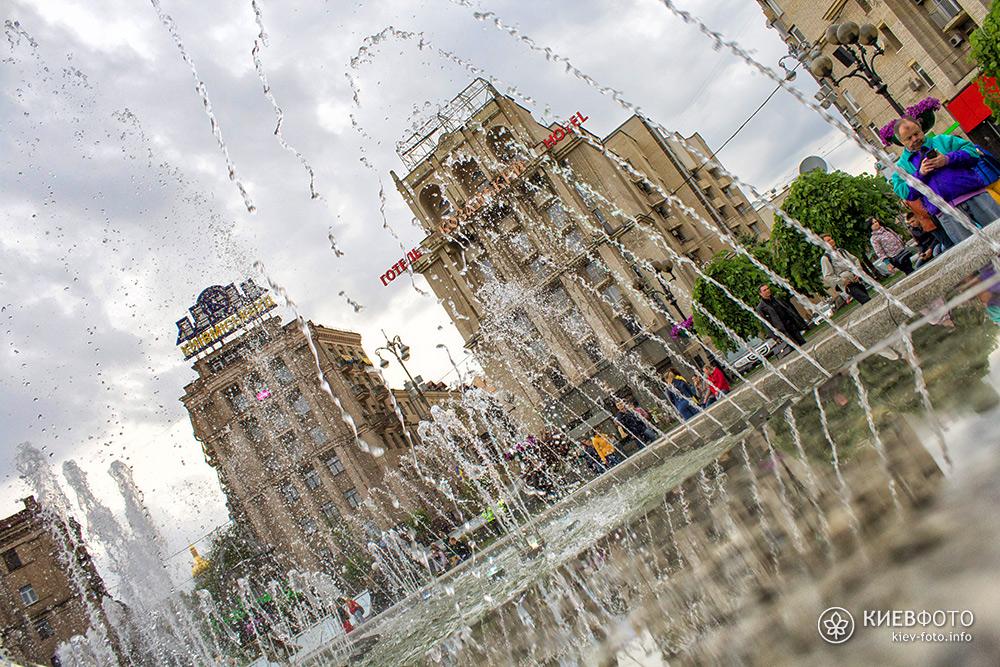 Фонтан на Майдані Незалежності