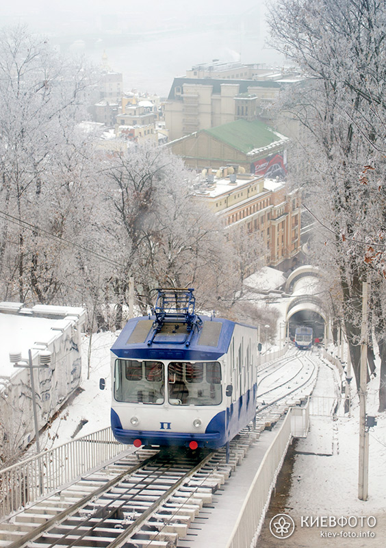 Київський фунікулер (фотографії)