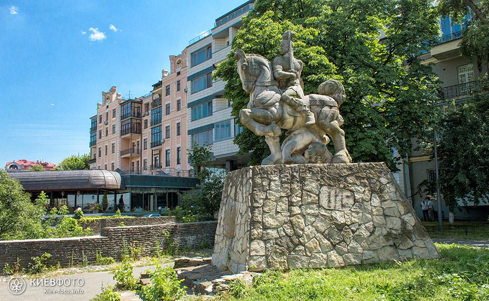 Пейзажна алея у Києві