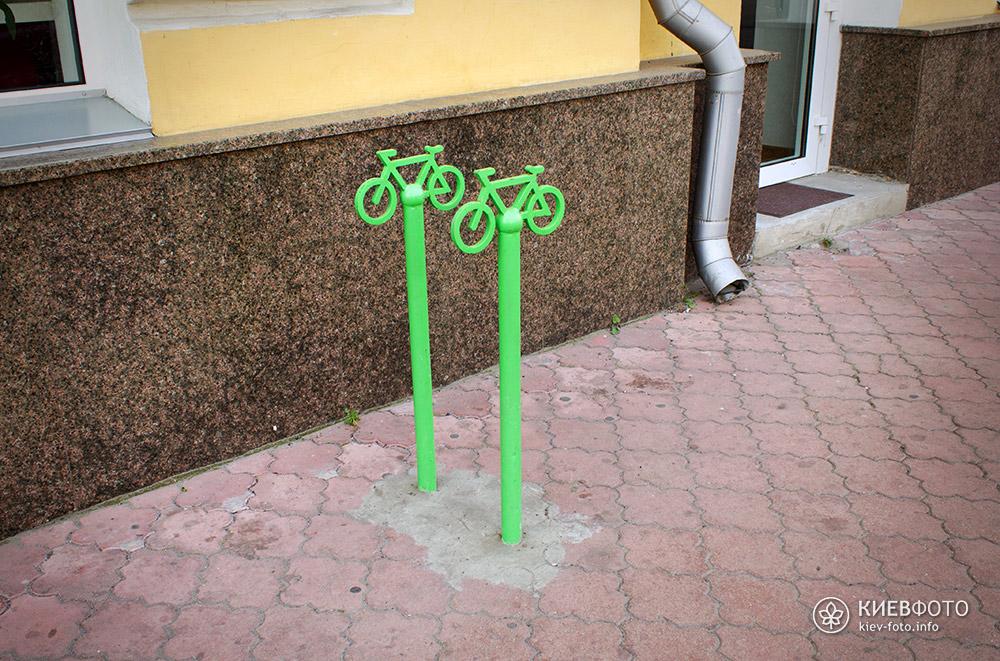 Київські велопарковки