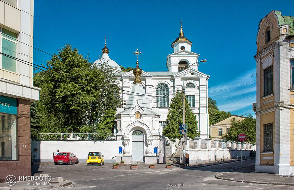 Хрестовоздвиженська церква на Подолі. Загальний вид
