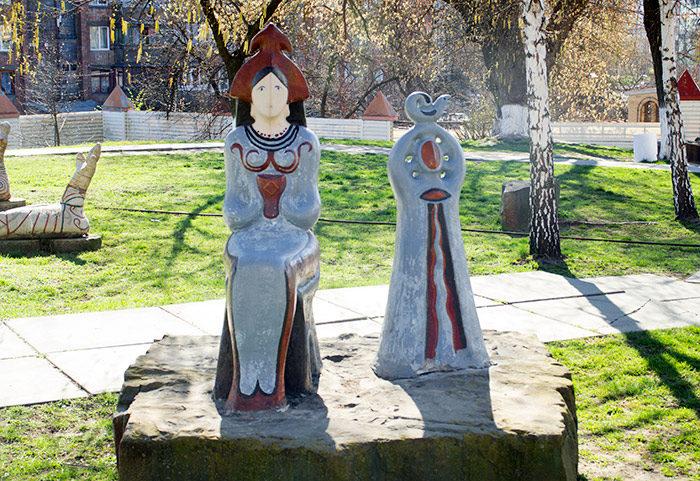 Парк Трипільської культури в МАУП