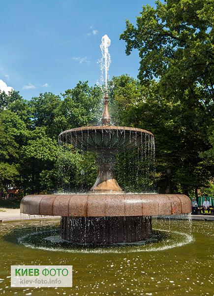 Фонтан у Голосіївському парку