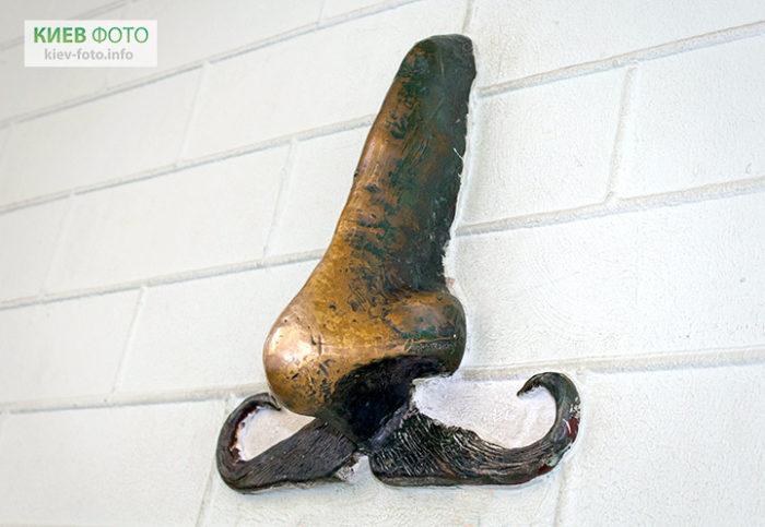 Пам'ятник носу Гоголя
