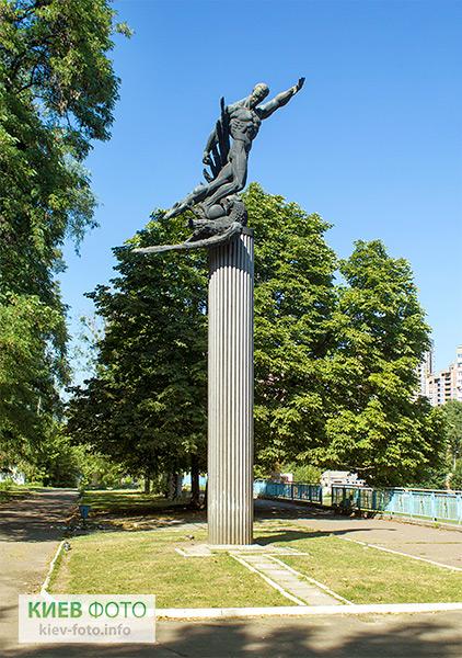 Пам'ятник футболістам «матчу смерті»