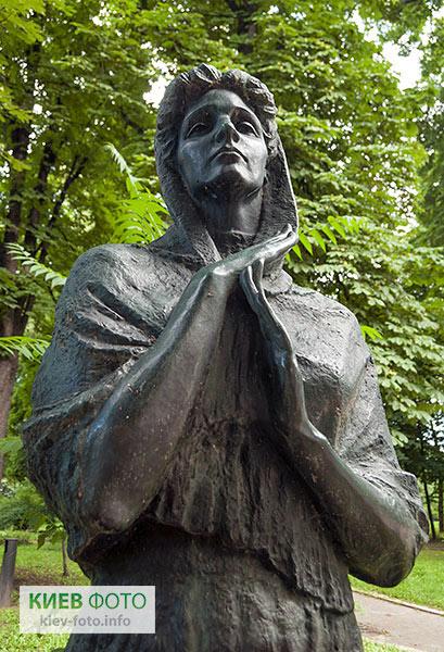 Пам'ятник Марії Заньковецькій