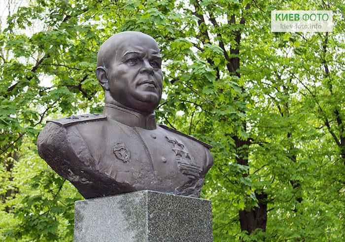 Пам'ятник маршалу Павлу Рибалку