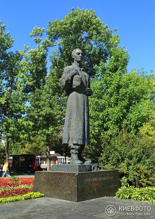 Пам'ятник Григорію Сковороді на Контрактовій площі