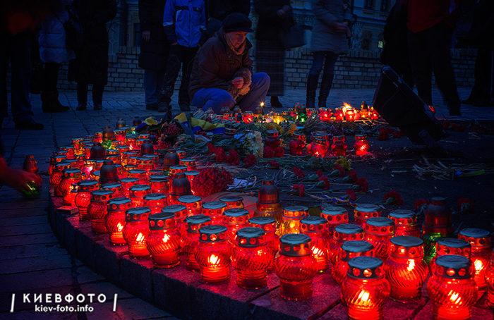 Пам'ятник Жертвам голодомору в Україні (на Михайлівській площі)
