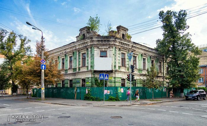 Волоська 5/14. Будинок XIX ст.