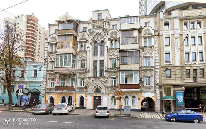 Бульвар Т. Шевченка 31. Будинок 1903 р.