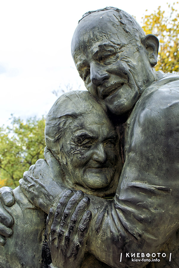 Пам'ятник «Вічна любов: Луїджі та Мокрина»