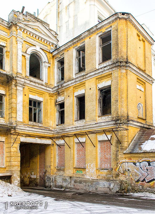Ярославів Вал 17Б. Будинок Сікорського. 1903-1904 рр.