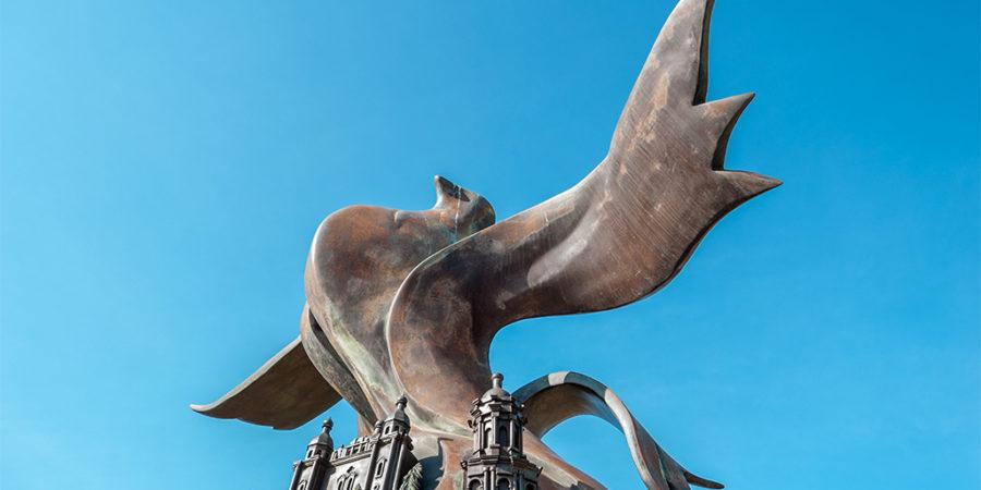 Скульптурна композиція «Вічний Київ» - пам'ятник Івану Мазепі