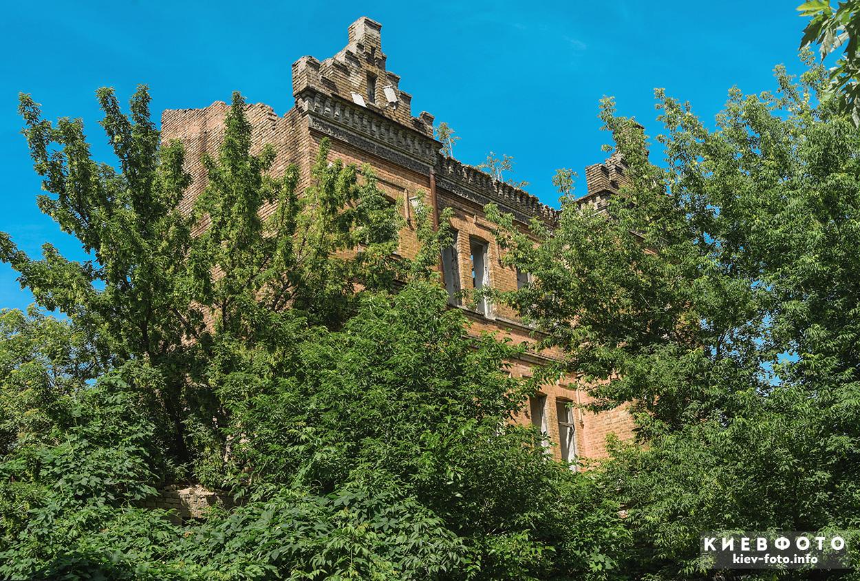 Велика Житомирська 34А. руїни будівлі