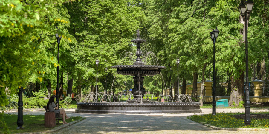Фонтан в Міському саду