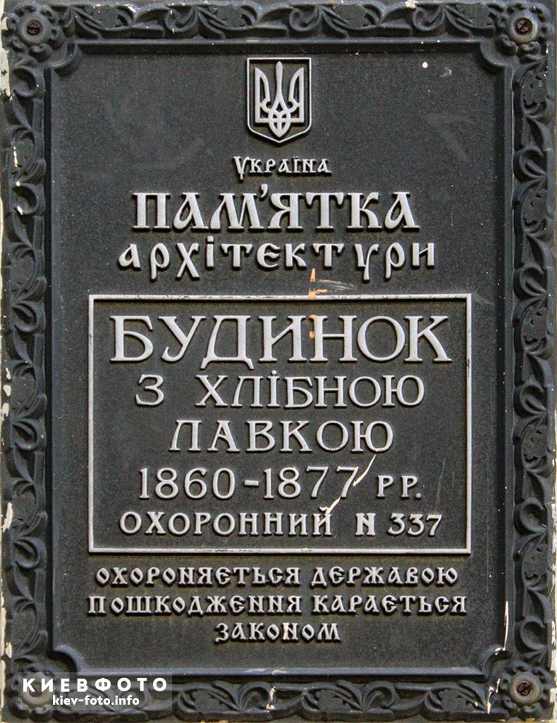 Ярославів Вал 27. Особняк 1860-63 рр.