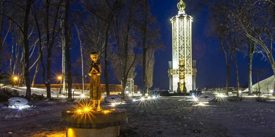 Меморіал жертв Голодомору на Печерську
