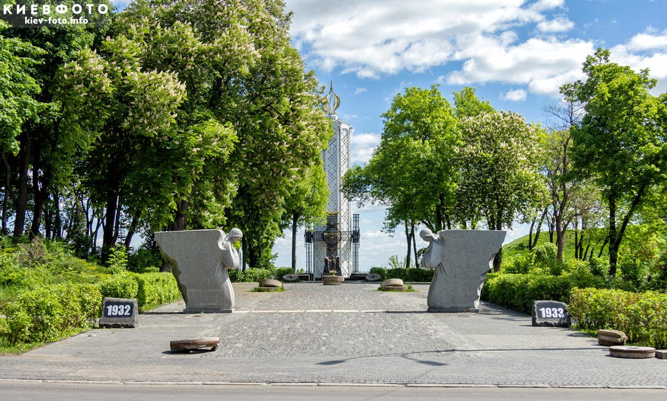 Меморіал жертв Голодоморів на Печерську