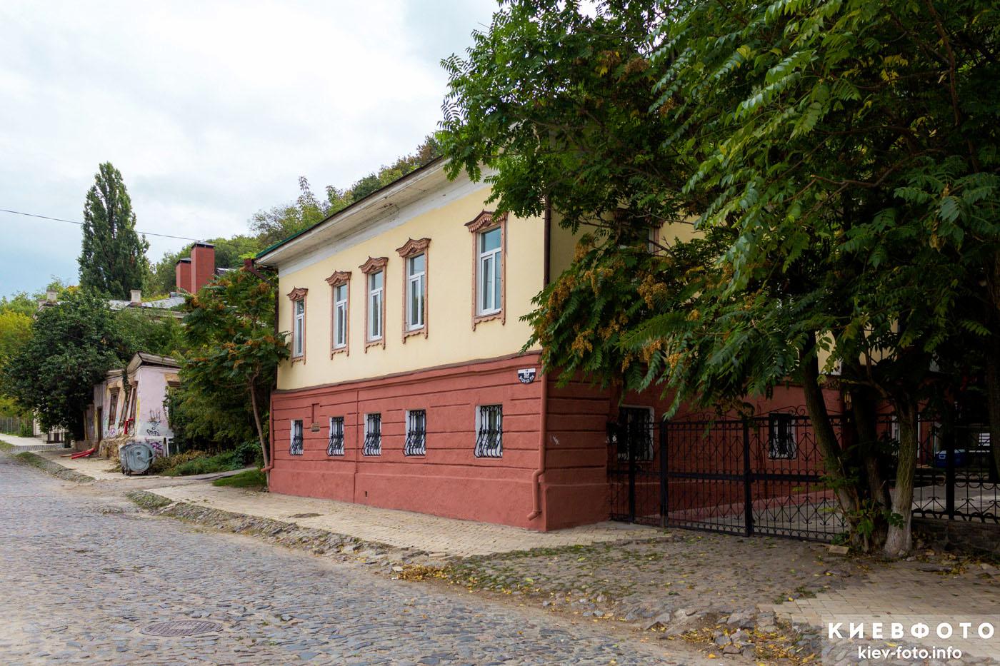 Боричів Тік 25. Будинок, 1-ша пол. XIX ст.