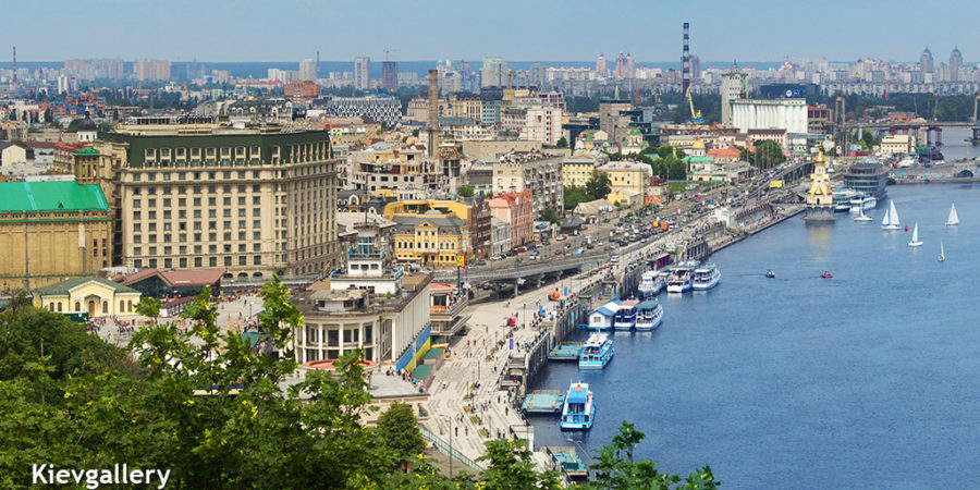 Де знаходиться Київ?