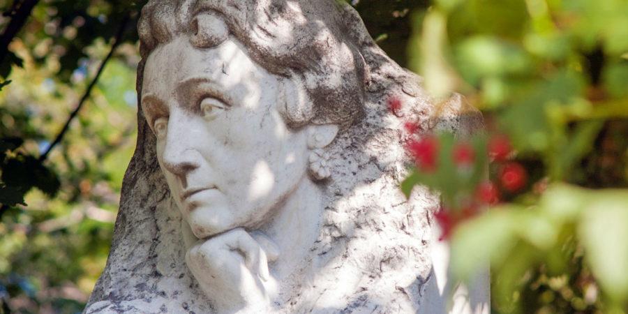 Надгробок на могилі Марії Заньковецької