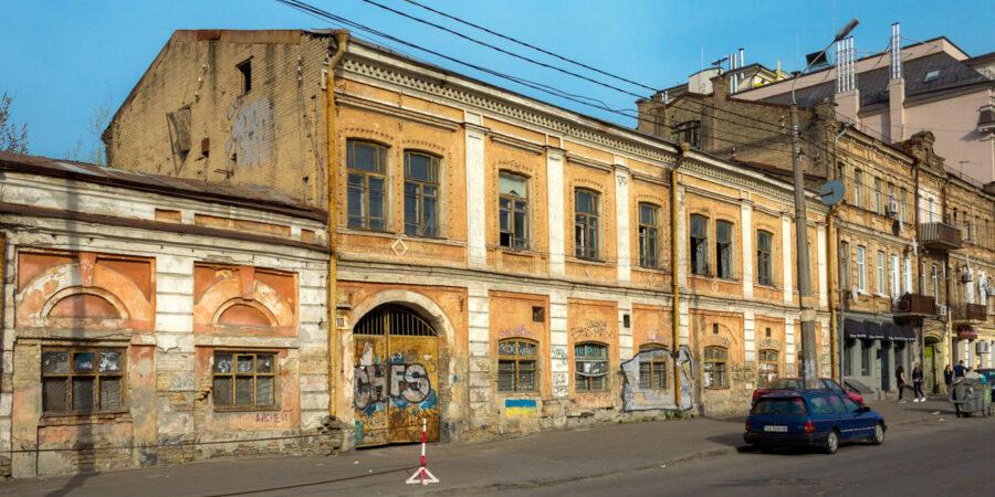 Житньоторзька площа 10. Торговий дім, XIX ст.